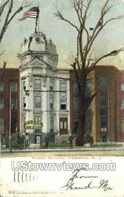 Eagan School - Hoboken, New Jersey NJ Postcard