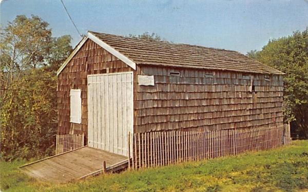 First U.S. Life Savings Station Twin Lights Museum Highlands, New Jersey Postcard