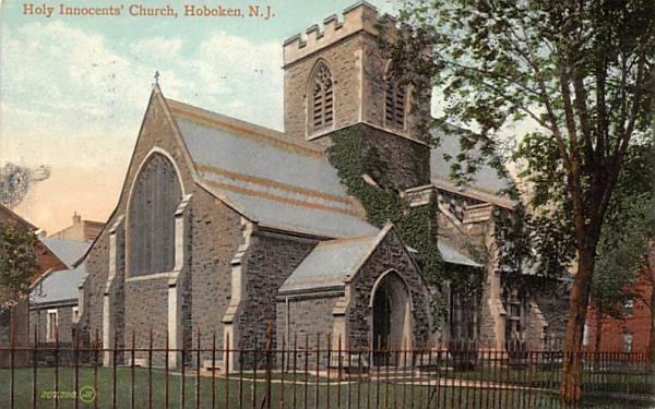 Holy Innocents' Church Hoboken, New Jersey Postcard