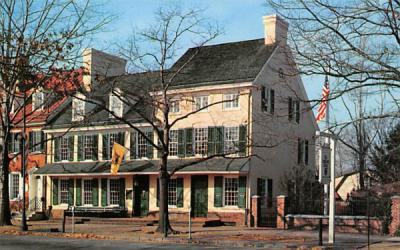 Indian King Tavern Haddonfield, New Jersey Postcard