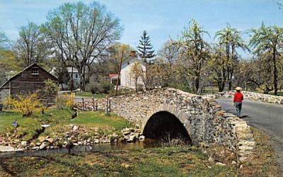 A Hunterdon County Portrait New Jersey Postcard