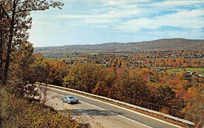 The Musconetcong Valley Hackettstown, New Jersey Postcard