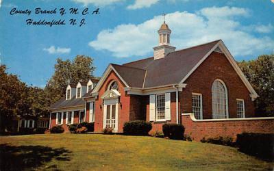 County Branch Y. M. C. A.  Haddonfield, New Jersey Postcard