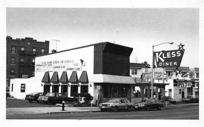 Kless Diner Irvington, New Jersey Postcard