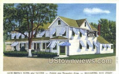 Buck Smiths Hotel And Tavern  - Keansburg, New Jersey NJ Postcard