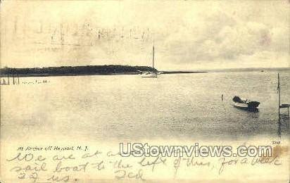 At Anchor - Keyport, New Jersey NJ Postcard
