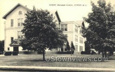 Grammar School  - Keyport, New Jersey NJ Postcard