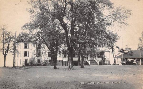 Saint Marys Summer Home Keyport, New Jersey Postcard