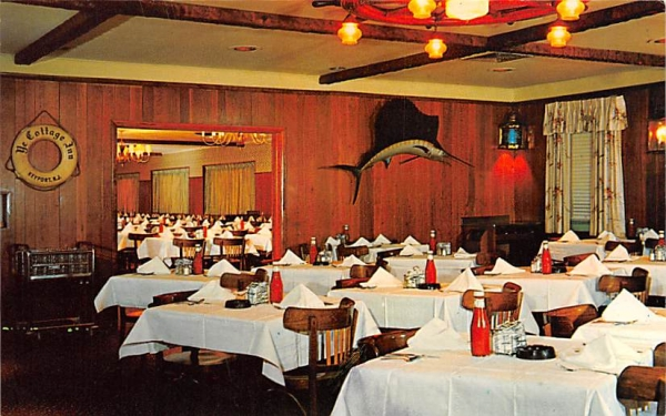 Ye Cottage Inn Keyport, New Jersey Postcard