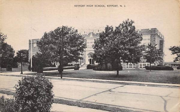 Keyport High School New Jersey Postcard