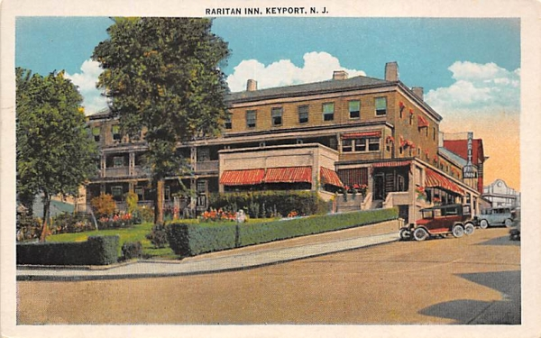 Raritan Inn Keyport, New Jersey Postcard