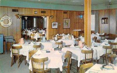 A View of the Main Dining Room Keyport, New Jersey Postcard