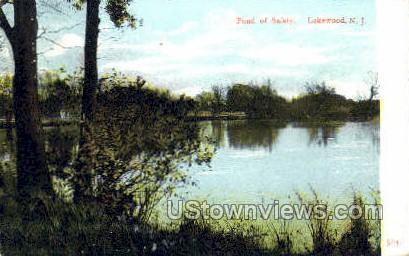 Pond Of Saftey - Lakewood, New Jersey NJ Postcard