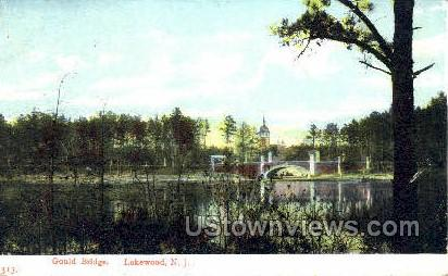 Goulds Bridge - Lakewood, New Jersey NJ Postcard