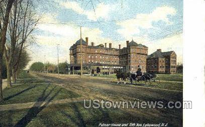 Palmer House  - Lakewood, New Jersey NJ Postcard