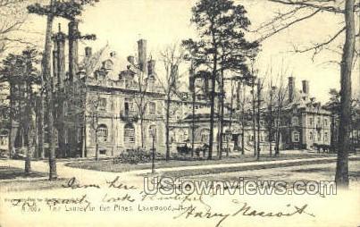 The Laurel House - Lakewood, New Jersey NJ Postcard