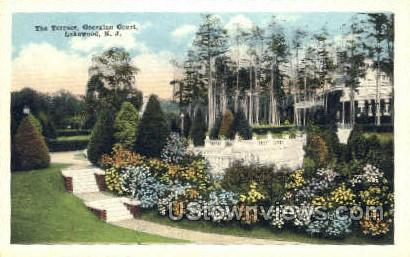 The Terrace - Lakewood, New Jersey NJ Postcard