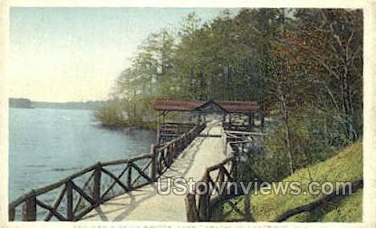 The New Kissing Bridge - Lakewood, New Jersey NJ Postcard