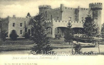 Jasper Lynch Residence - Lakewood, New Jersey NJ Postcard