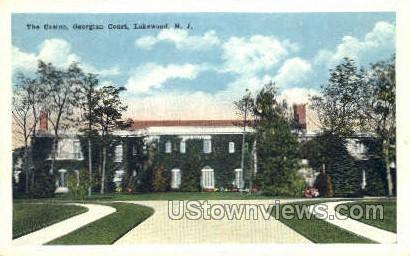 The Casino - Lakewood, New Jersey NJ Postcard
