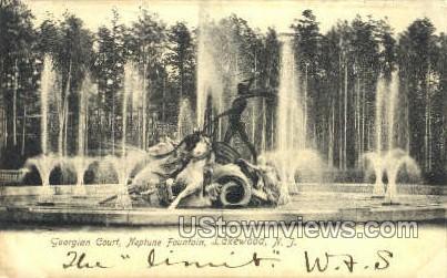 Georgian Court - Lakewood, New Jersey NJ Postcard