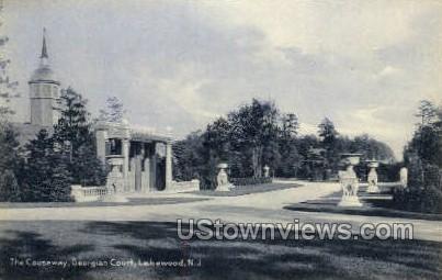 The Causeway  - Lakewood, New Jersey NJ Postcard