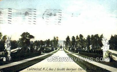 Glouds New Fountain - Lakewood, New Jersey NJ Postcard