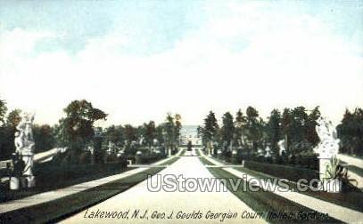 Glouds Georgian Court - Lakewood, New Jersey NJ Postcard
