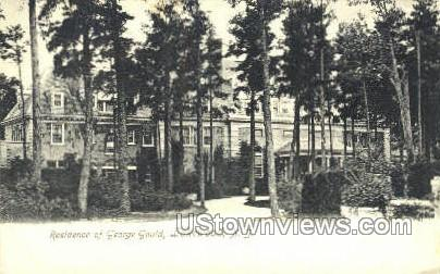 Residence Of George Gloud - Lakewood, New Jersey NJ Postcard