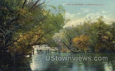 The Narrows - Lakewood, New Jersey NJ Postcard