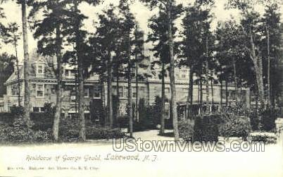 Residence Of George Loud - Lakewood, New Jersey NJ Postcard