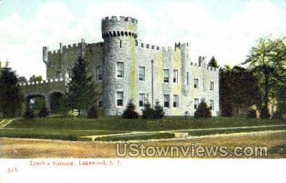 Lynchs Exterior - Lakewood, New Jersey NJ Postcard