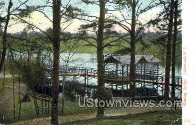 Kissing Bridge - Lakewood, New Jersey NJ Postcard
