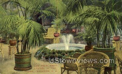 The Palm Room Laurel Inn - Lakewood, New Jersey NJ Postcard