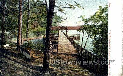 New Kissing Bridge - Lakewood, New Jersey NJ Postcard