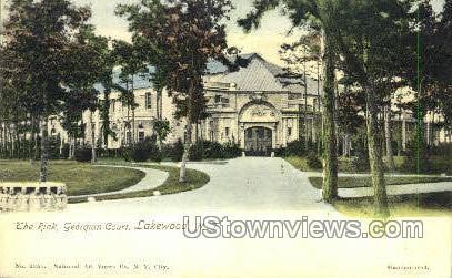 The Rink  - Lakewood, New Jersey NJ Postcard