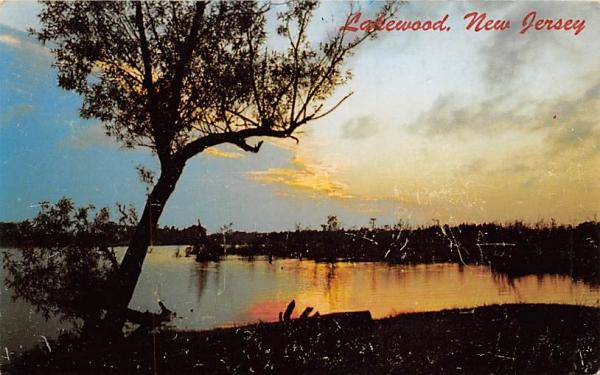 Lakewood New Jersey Postcard