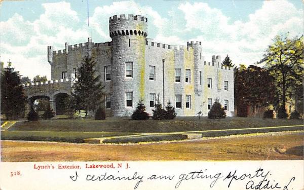 Lynch's Exterior Lakewood , New Jersey Postcard