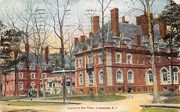 Laurel in the Pines Lakewood , New Jersey Postcard