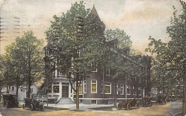 Bartlett Inn Lakewood, New Jersey Postcard