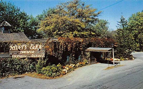 River's Edge Lambertville, New Jersey Postcard