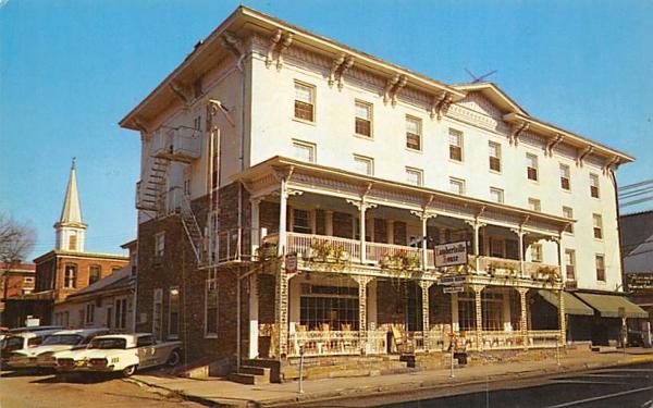 The Lambertville House New Jersey Postcard
