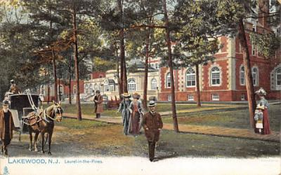 Laurel-in-the-Pines Lakewood , New Jersey Postcard