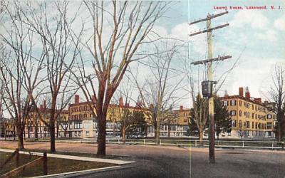 Laurel House Lakewood , New Jersey Postcard
