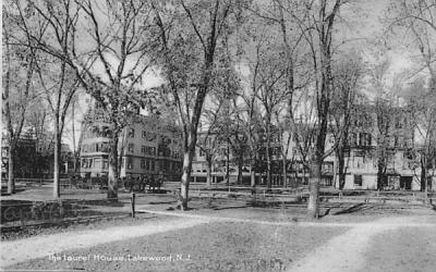 The Laurel House Lakewood, New Jersey Postcard