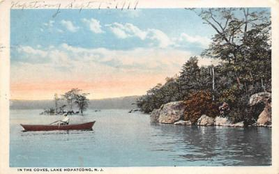 In the Coves Lake Hopatcong, New Jersey Postcard