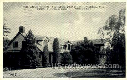 The Latch String Dining  - Oradell, New Jersey NJ Postcard