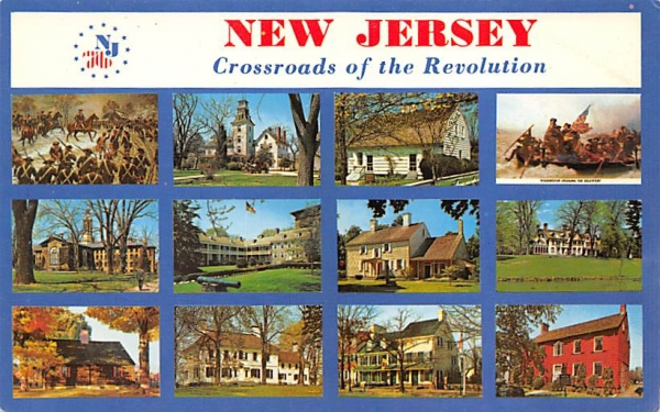 Crossroads of the Revolution Misc, New Jersey Postcard
