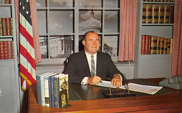 Rep. Milton W. Glenn, Second District, NJ Misc, New Jersey Postcard