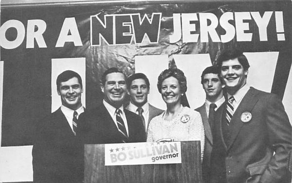 The Sullivan family of Essex Fells Misc, New Jersey Postcard